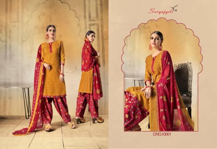 Surya Jyoti Chiffon Patiyala 10001