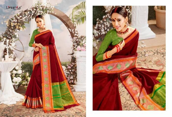 Lifestyle Saree Resham Silk NX 65441