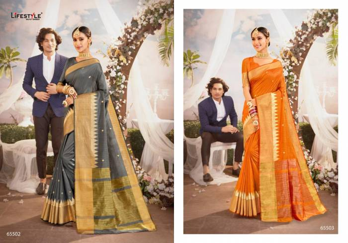 Lifestyle Saree Banjara 65502-65503