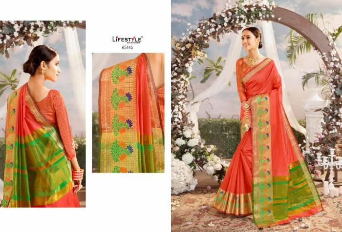 Lifestyle Saree Resham Silk NX 65445