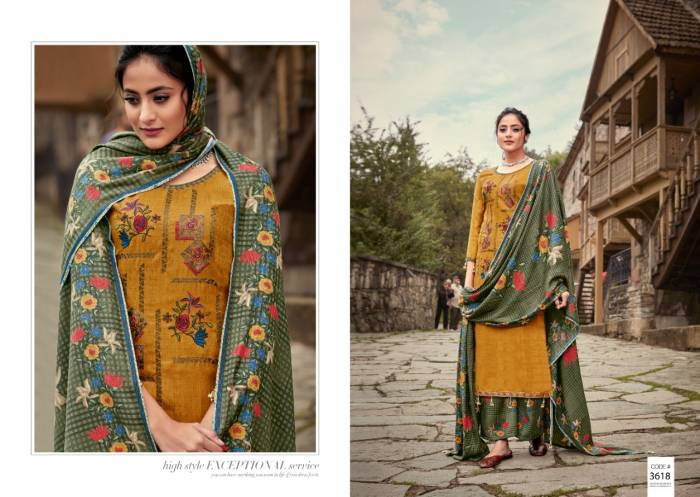 Kalyan Prints Arshiya Patiyala Bottom Collection 3618