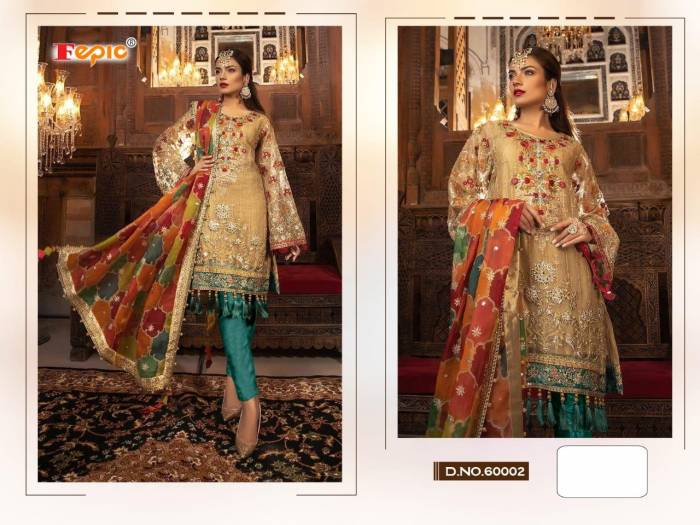 Fepic Rosemeen Embroide 60002