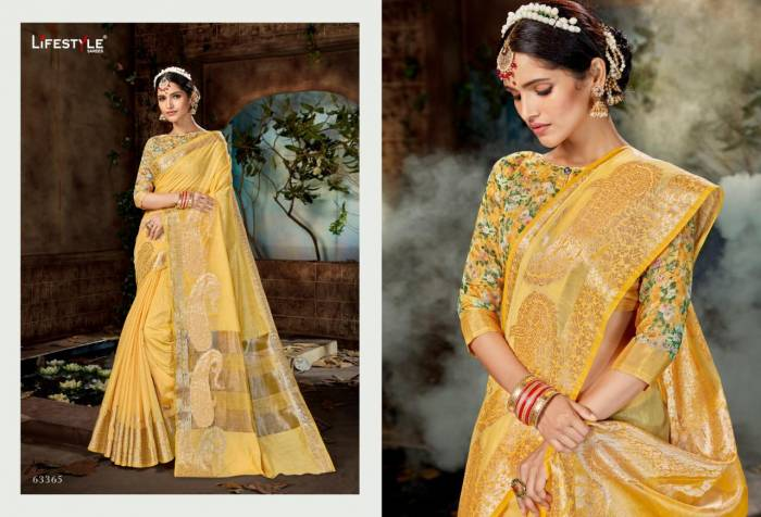 Lifestyle Saree Nidhi 63365