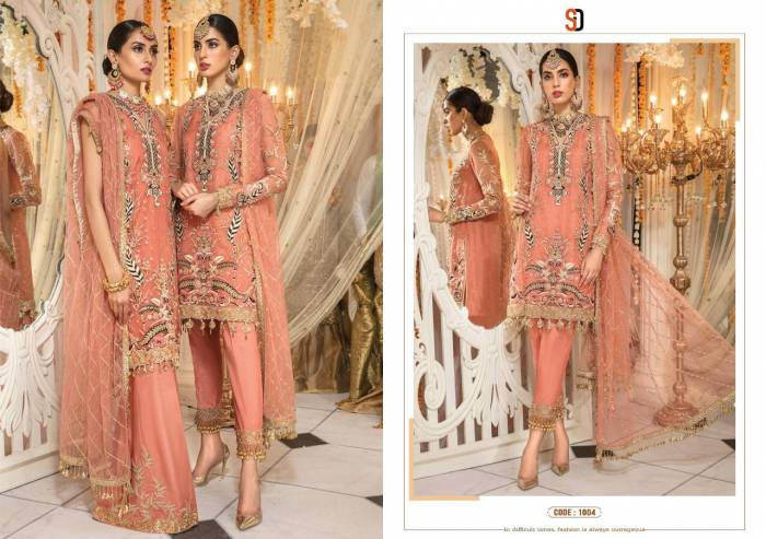 Shraddha Designer Anaya Mehndi Collection 1004