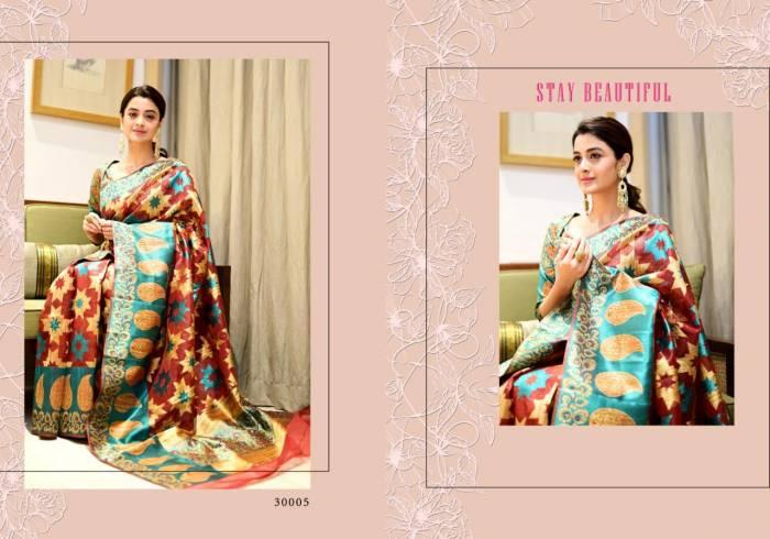Yadu Nandan Fashion Vastram Silk 30005