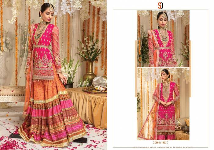 Shraddha Designer Anaya Mehndi Collection 1002