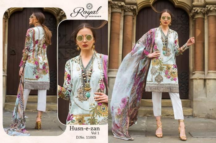 Royal Designer Huzn-E-Zan 11005