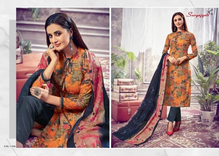 Surya Jyoti Nargis Cotton 11006