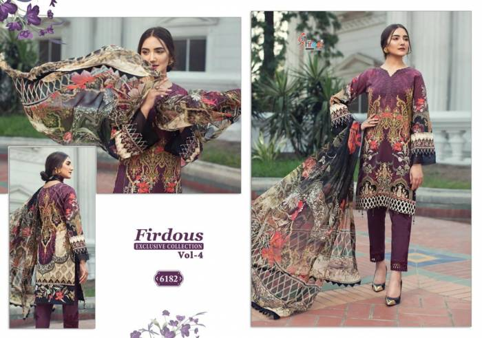 Shree Fabs Firdous Exclusive Collection 6182