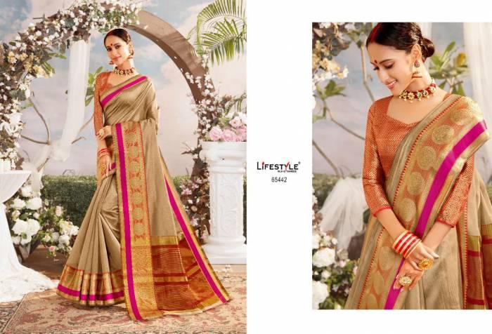 Lifestyle Saree Resham Silk NX 65442