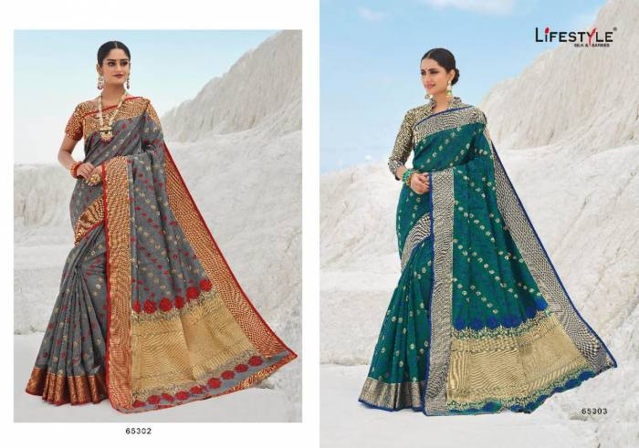 Lifestyle Saree Avantika 65302-65303