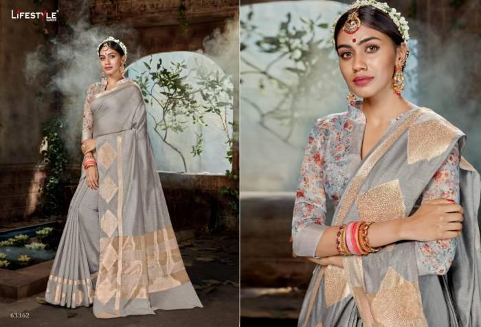 Lifestyle Saree Nidhi 63362