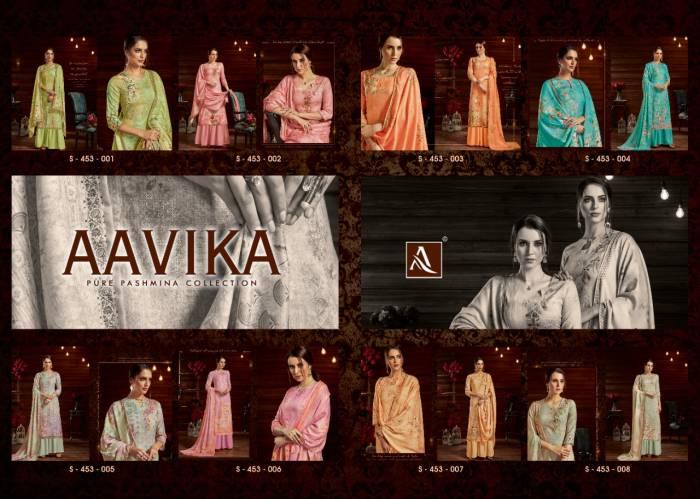 Alok Suits Aavika 453-001-453-008