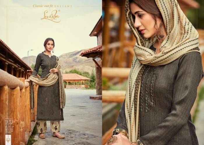 Levisha Fanah Patiyala Winter Collection 3714