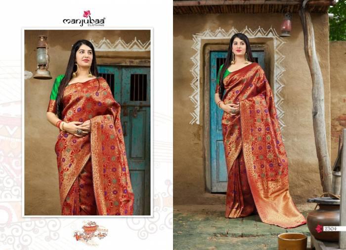 Manjubaa Maheesha Silk 2304