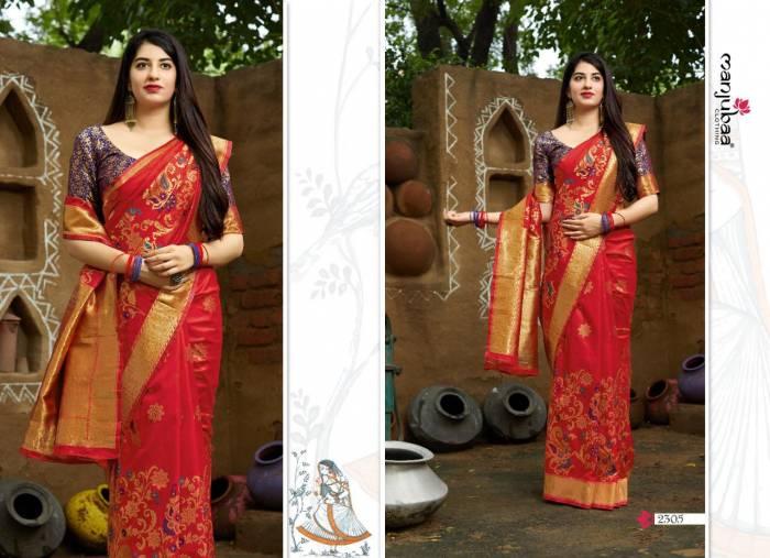 Manjubaa Maheesha Silk 2305