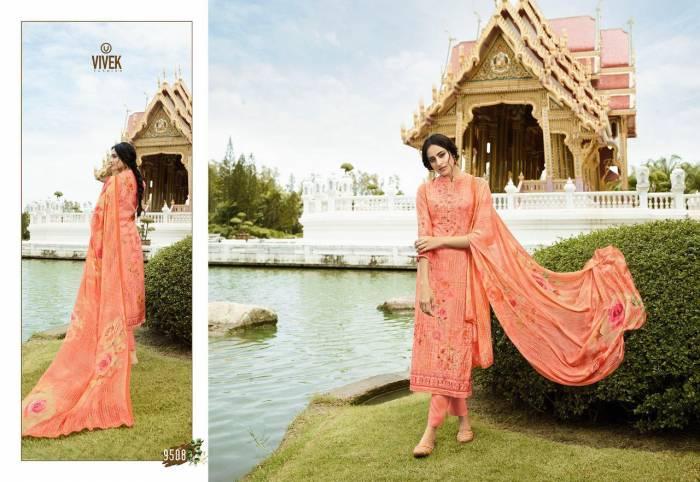 Vivek Fashion Jaanisa 9508