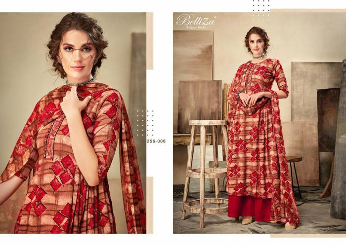 Belliza Designer Cherry Premium Rayon Collection 256-006