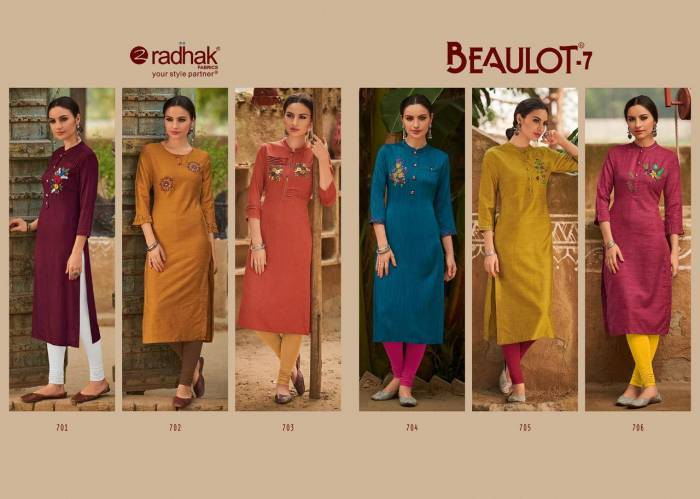 Radhak Fashion Beaulot 701-706