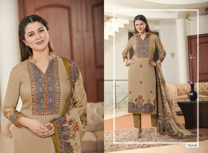 Rakhi Fashion Lenora 7414 B