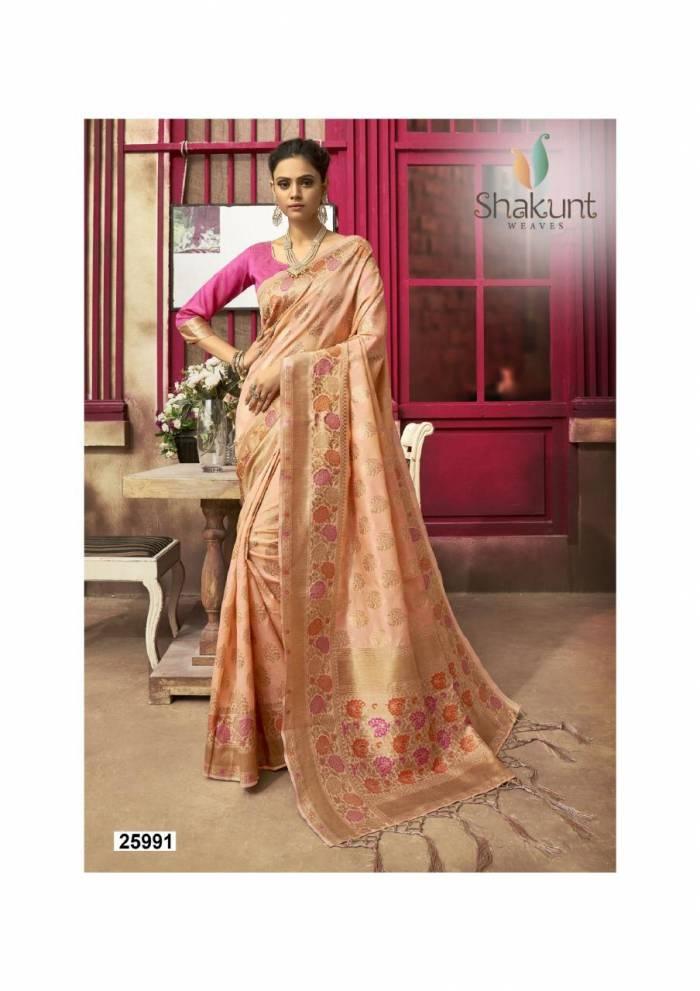 Shakunt Saree Smriti 25991
