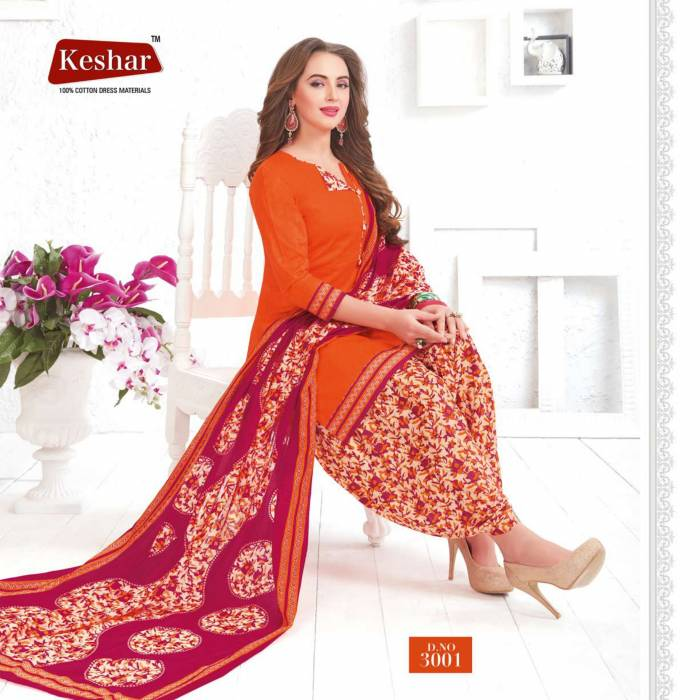 Keshar Anushka Patiyala 3001