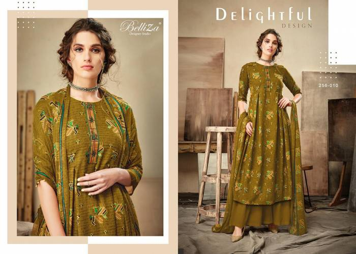 Belliza Designer Cherry Premium Rayon Collection 256-010