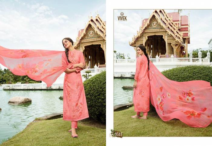 Vivek Fashion Jaanisa 9503