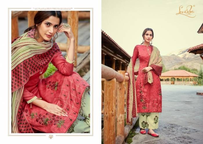 Levisha Fanah Patiyala Winter Collection 3720