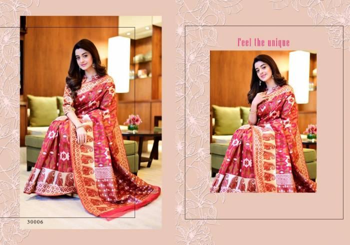 Yadu Nandan Fashion Vastram Silk 30006