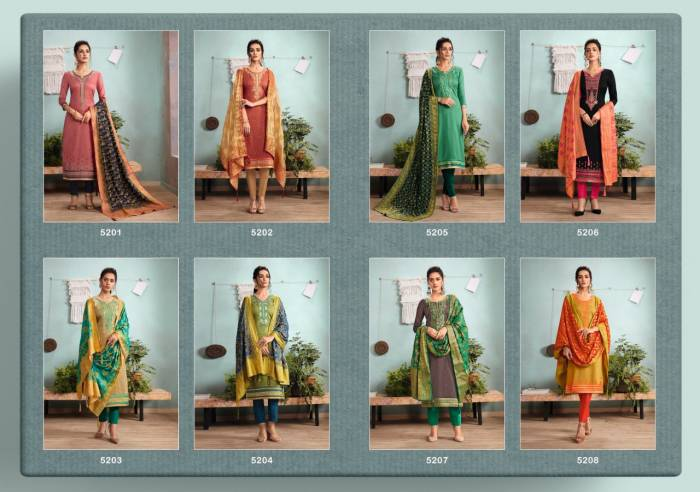 Kessi Fabric Asopalav 5201-5208