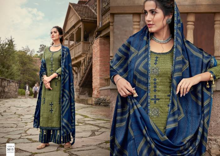 Kalyan Prints Arshiya Patiyala Bottom Collection 3615