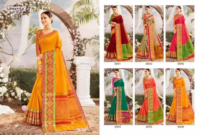 Lifestyle Saree Resham Silk NX 65446