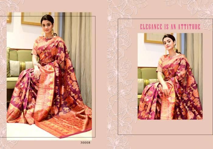 Yadu Nandan Fashion Vastram Silk 30008