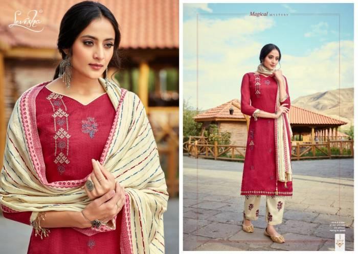 Levisha Fanah Patiyala Winter Collection 3717