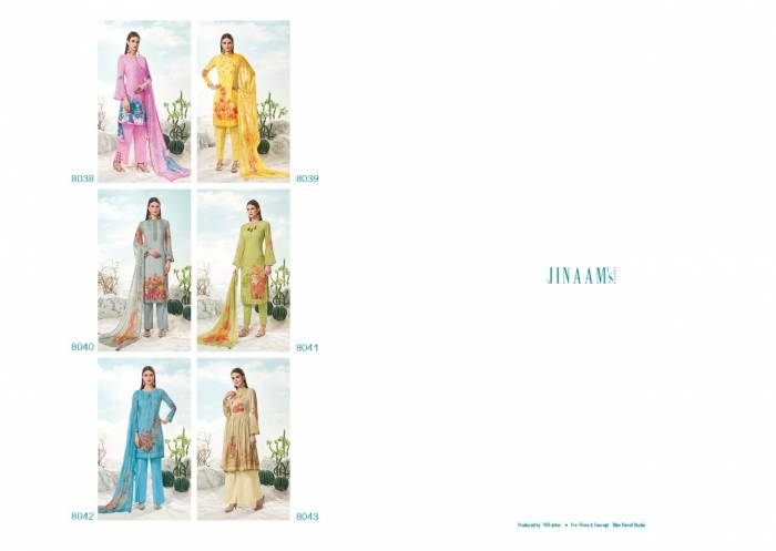 Jinaam Dress Evana 8038-8043