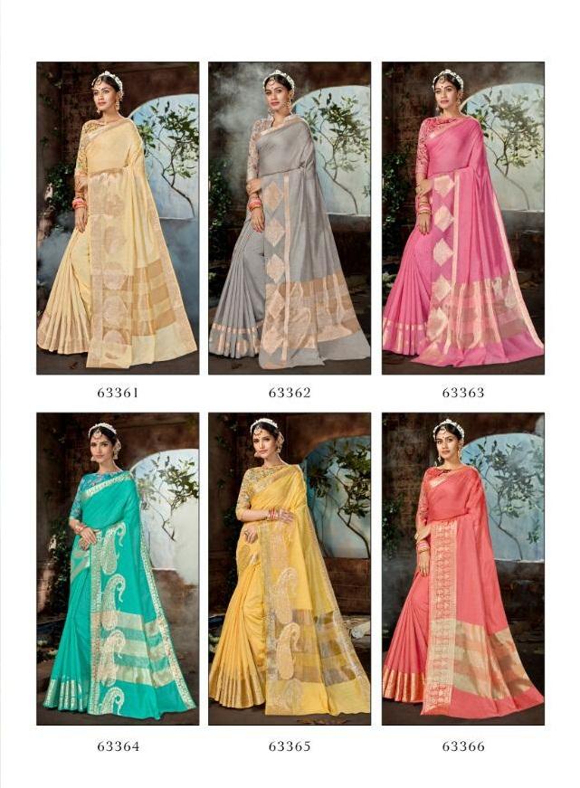 Lifestyle Saree Nidhi 63361-63366