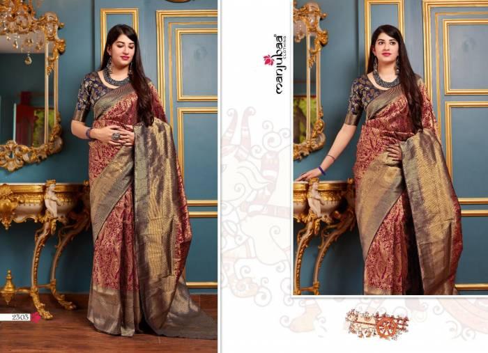 Manjubaa Maheesha Silk 2303
