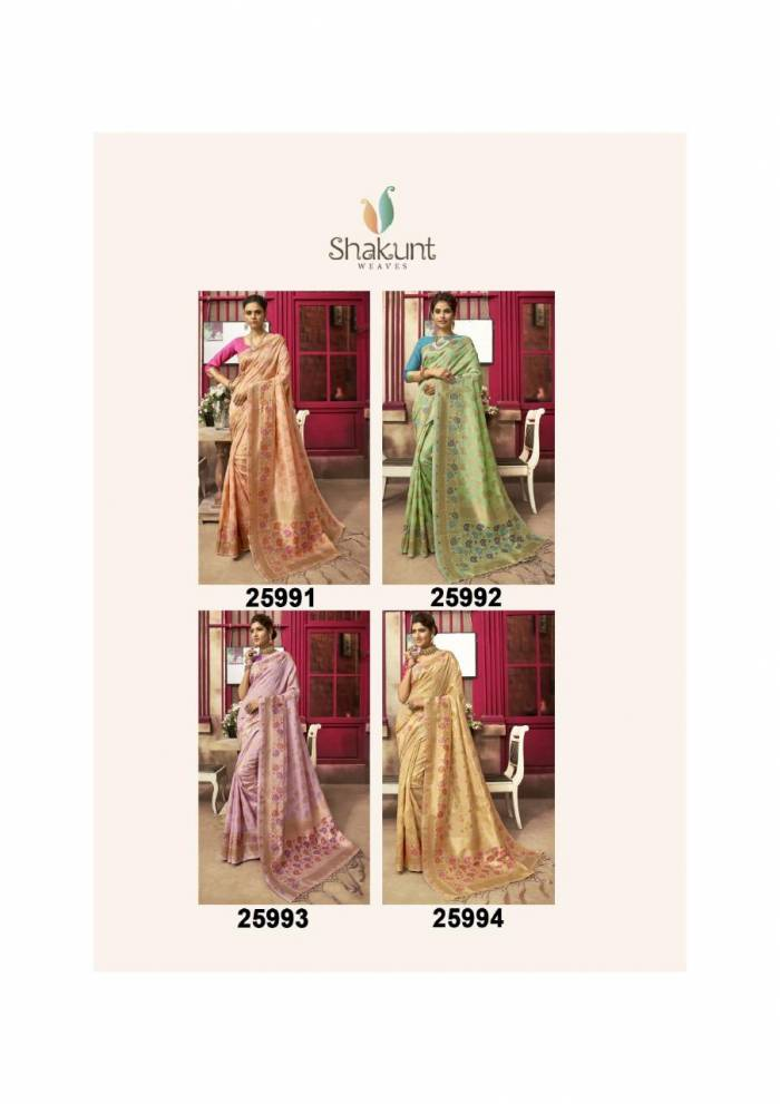 Shakunt Saree Smriti 25991-25994