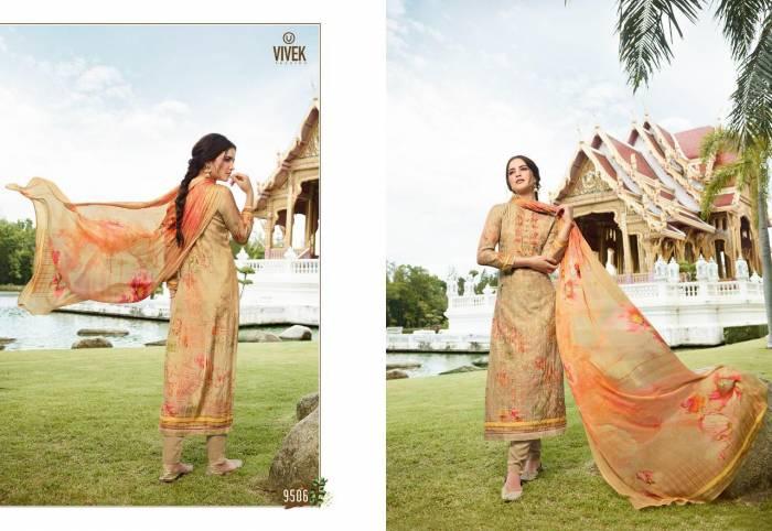 Vivek Fashion Jaanisa 9506