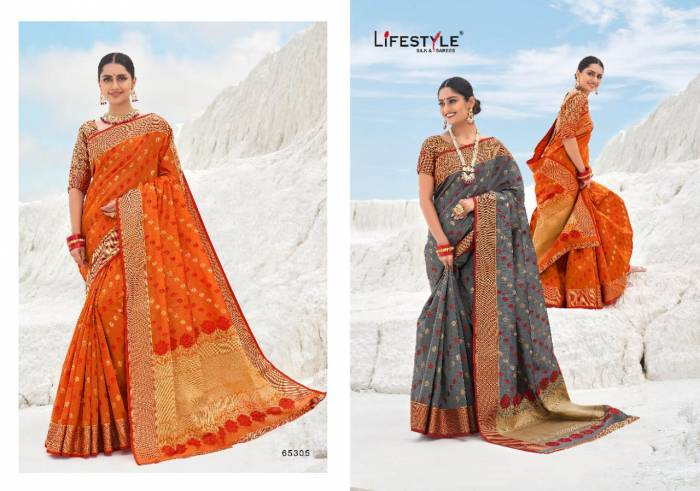 Lifestyle Saree Avantika 65305