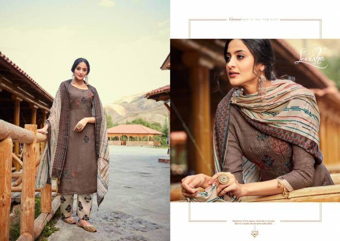 Levisha Fanah Patiyala Winter Collection 3718