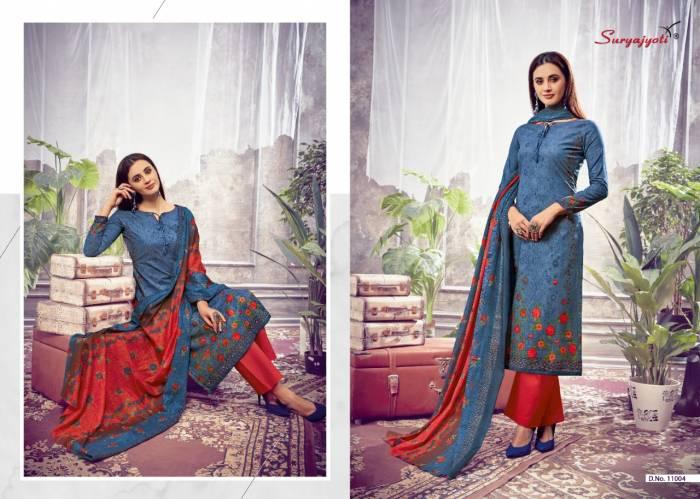 Surya Jyoti Nargis Cotton 11004