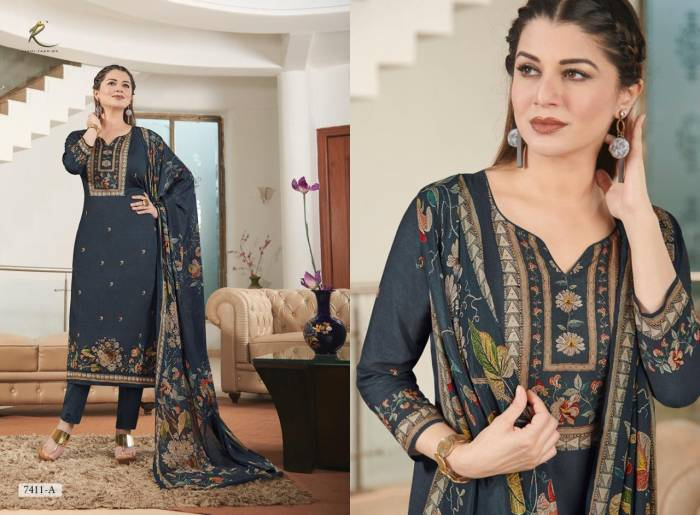 Rakhi Fashion Lenora 7411 A