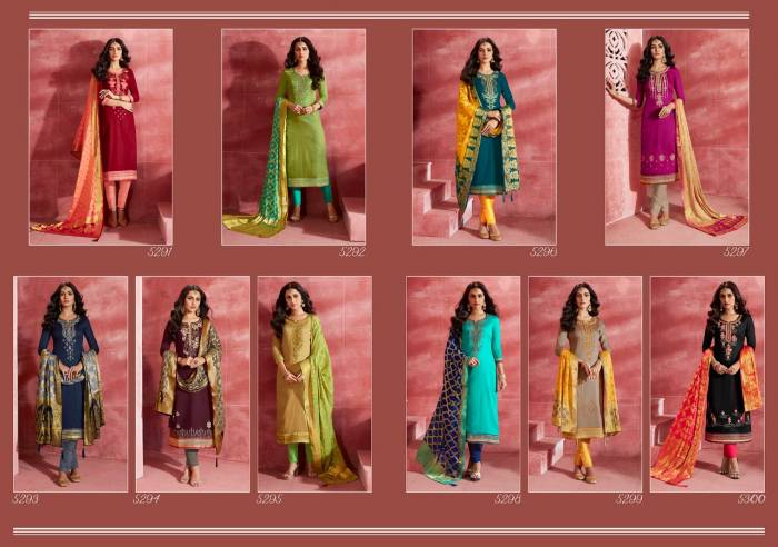 Kessi Fabrics Parampara 5291-5300