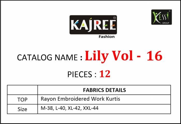 Lily Vol-16 Fabrics